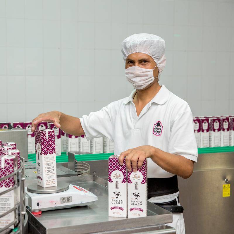 Presencia comercial en lácteos