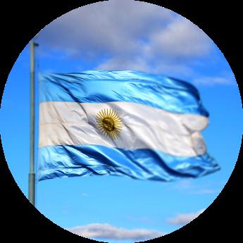 Llegada a Argentina