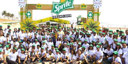 Coca-Cola FEMSA y Sprite colaboran con jóvenes de Veracruz, para cambiar al mundo a través del reciclaje.