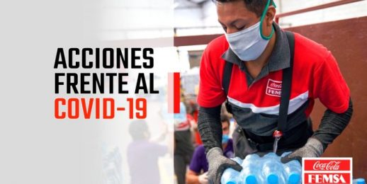 Coca-Cola FEMSA apoya a comunidades y profesionales de la salud en Latinoamérica.